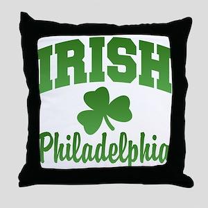 San Diego Irish Throw Pillow
