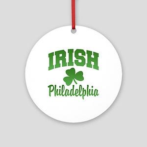 San Diego Irish Ornament (Round)