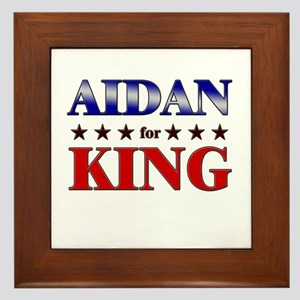 AIDAN for king Framed Tile