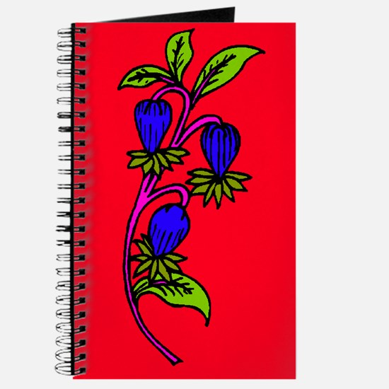 Plum Vines 5 Journal