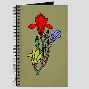 Bright Flowers 1 Journal