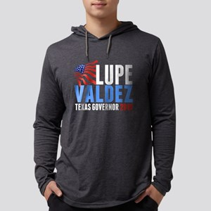 Lupe Valdez Governor 2018 Mens Hooded Shirt