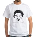Andrei The Pitbull White T-Shirt