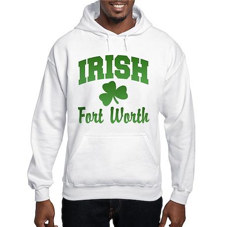 Fort Worth Irish Hooded Sweatshirt