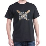Cool People Use Chopsticks Dark T-Shirt