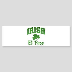 El Paso Irish Bumper Sticker