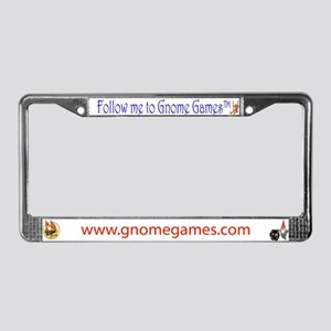 Gnome Games License Plate Frame