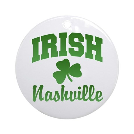 Nashville Irish Ornament (Round)