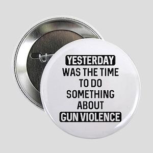 """End Gun Violence Now 2.25"""" Button"""