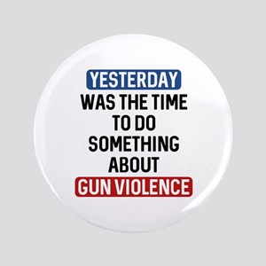 "End Gun Violence Now 3.5"" Button"