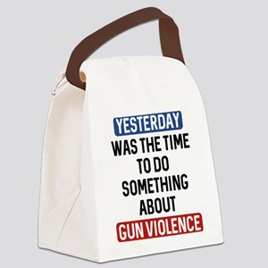 End Gun Violence Now Canvas Lunch Bag