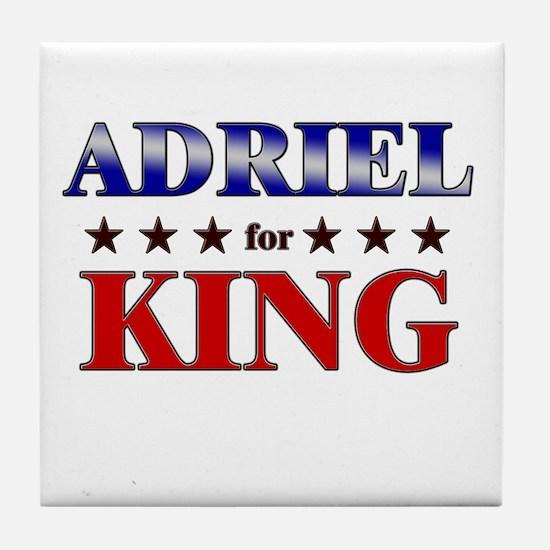 ADRIEL for king Tile Coaster