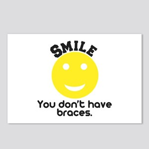 Smile braces Postcards (Package of 8)