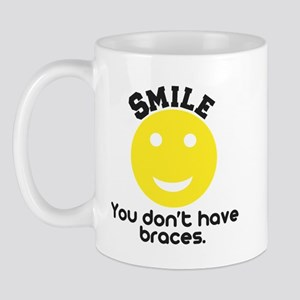 Smile braces Mug