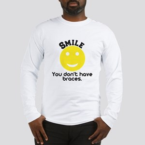 Smile braces Long Sleeve T-Shirt