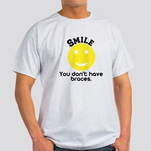 Smile braces Light T-Shirt