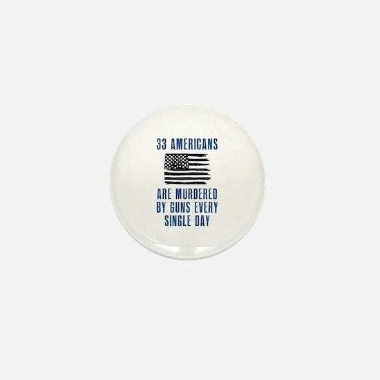 33 Americans Mini Button