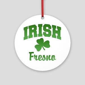 Fresno Irish Ornament (Round)