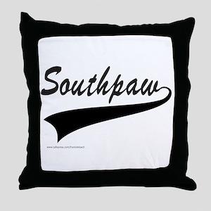 SOUTHPAW Throw Pillow