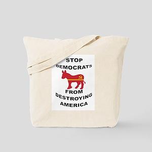 STOP DEMOCRATS Tote Bag