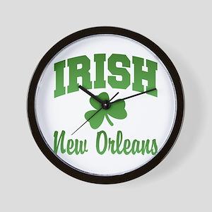 New Orleans Irish Wall Clock