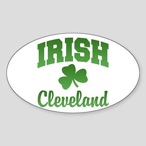 Cleveland Irish Oval Sticker