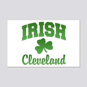 Cleveland Irish Mini Poster Print