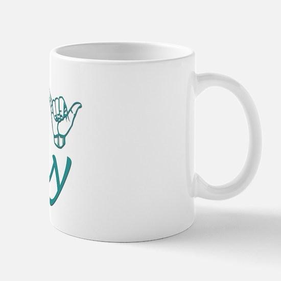 Kathy-teal Mug