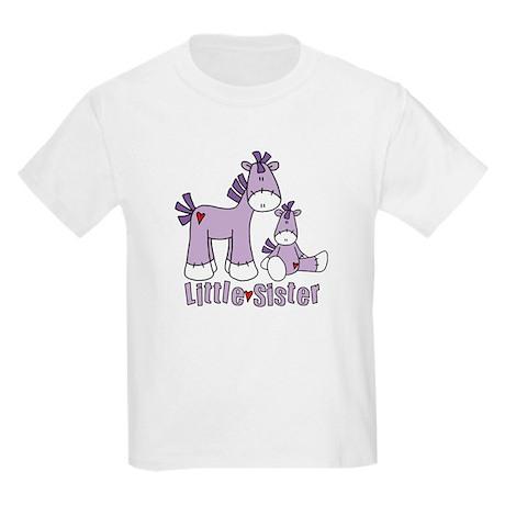 Sock Pony Duo Little Sister Kids Light T-Shirt