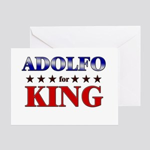 ADOLFO for king Greeting Card