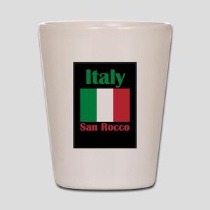 San Rocco Italy Shot Glass