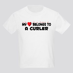 Belongs To A Curler Kids Light T-Shirt