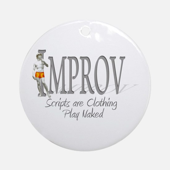 Improv Ornament (Round)