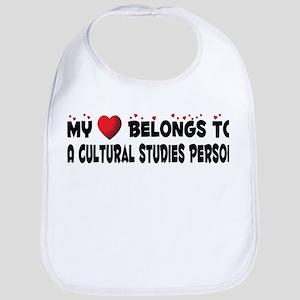 Belongs To A Cultural Studies Person Bib