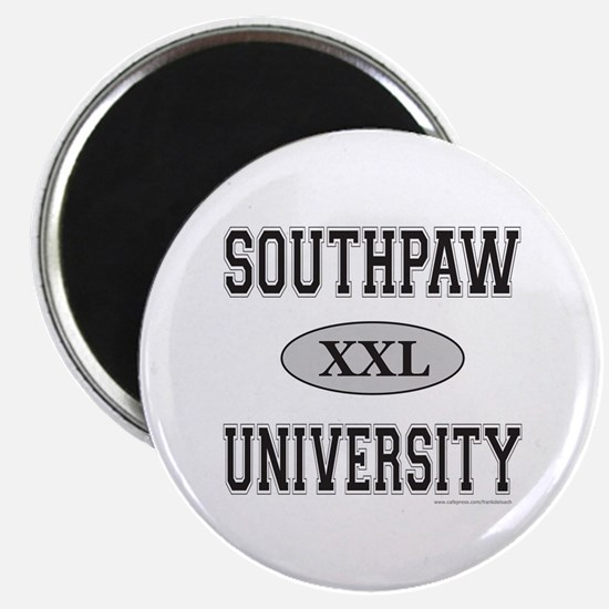 """SOUTHPAW UNIVERSITY 2.25"""" Magnet (100 pack)"""