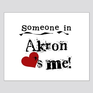 Akron Loves Me Small Poster