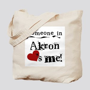 Akron Loves Me Tote Bag