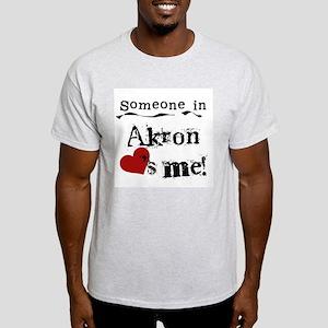 Akron Loves Me Light T-Shirt