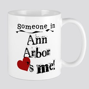Ann Arbor Loves Me Mug