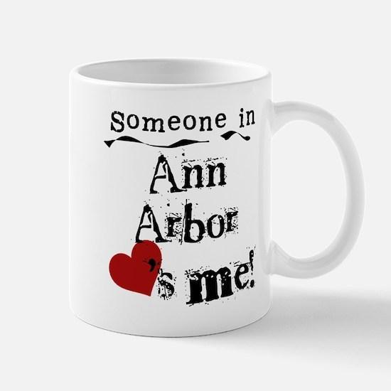 Ann Arbor Loves Me Mug