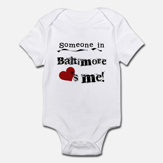 Baltimore Loves Me Infant Bodysuit