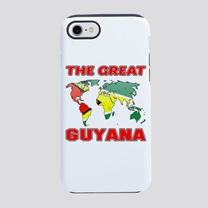 The Great Guyana Designs iPhone 8/7 Tough Case