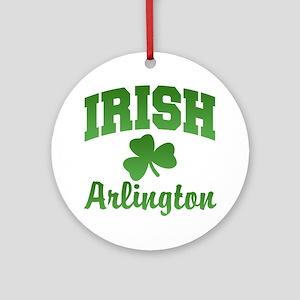 Arlington Irish Ornament (Round)
