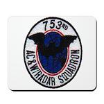 753rd AC&W RADAR SQUADRON Mousepad