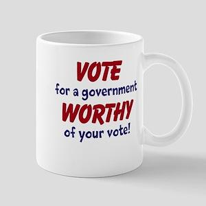 Worthy Government Mugs