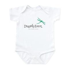Dragonfly Forest Logo Infant Bodysuit