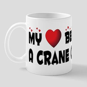 Belongs To A Crane Operator Mug