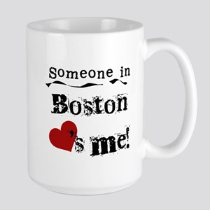 Boston Loves Me Large Mug