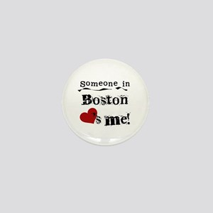 Boston Loves Me Mini Button