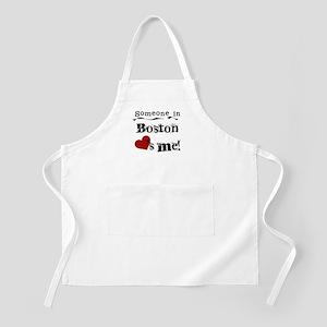 Boston Loves Me BBQ Apron